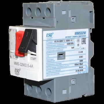 MMS32M 0004 2.5-4А (400V/100kA ESQ)